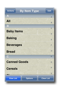 Simply Groceries screenshot 1