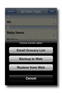Simply Groceries Connected screenshot 2